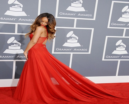Premios Grammy 2013: discretion get glamorous red carpet