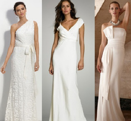 What type of clothing is appropriate for use in a summer outdoor weddings?