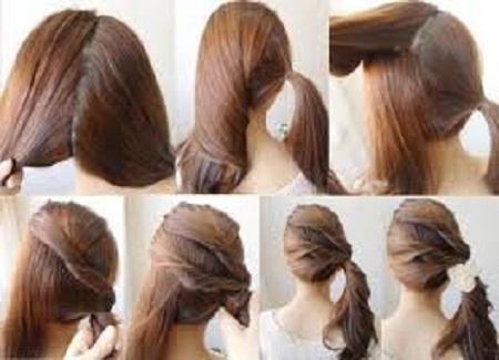 How to do easy hairstyles